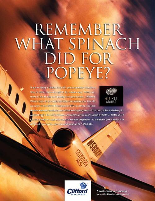 Clifford Popeye Ad