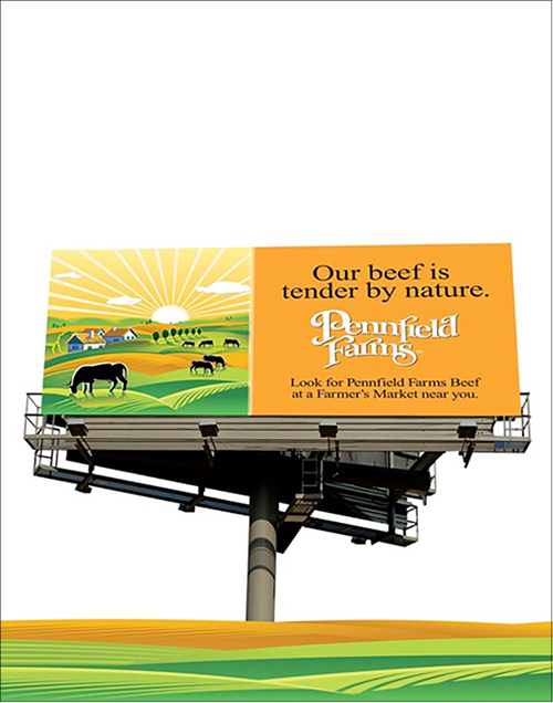 Pennfield Farms Billboard